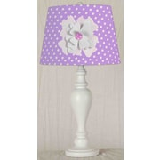 Creative Motion Flower 13'' Table Lamp; Pink
