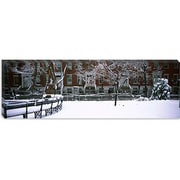 iCanvas Panoramic Washington Square Park in Manhattan, New York Photographic Print on Wrapped Canvas