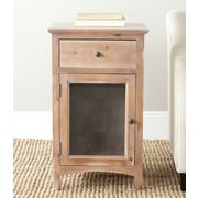 Safavieh American Home Ziva End Table; Honey Nature