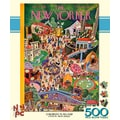 New York Puzzle Company Children's Playland 500-Piece Puzzle