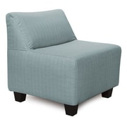 Howard Elliott Pod Sterling Slipper Chair; Breeze
