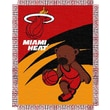 Northwest Co. NBA Baby Triple Woven Jacquard Throw; Miami Heat