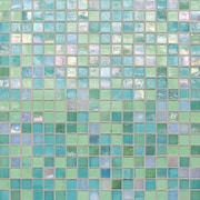 Daltile City Lights 0.5'' x 0.5'' Glass Mosaic Tile in Blue