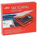 Derwent Sketching Pencil Wood Box Set