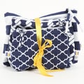 DEI Latitude 38 3 Piece Nautical Cotton Zip Pouch