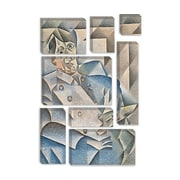 iCanvas 'Portrait of Pablo Picasso' by Juan Gris Painting Print on Canvas; 60'' H x 40'' W x 1.5'' D