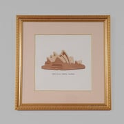 Old Modern Handicrafts Sydney Australia Opera House by Billy Jacobs Framed Graphic Art