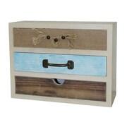 Cheungs 3 Drawer Wooden Storage Box