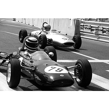 iCanvas Vintage F1 Race Photographic Print on Wrapped Canvas; 26'' H x 40'' W x 1.5'' D
