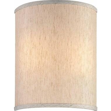Volume Lighting 9'' Linen Drum Wall Sconce Shade