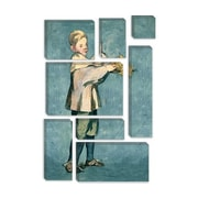 iCanvas 'Boy Carrying a Tray' by Edouard Manet Painting Print on Canvas; 18'' H x 12'' W x 0.75'' D