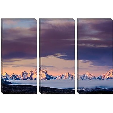 iCanvas 'Above the Tetons' by Dan Ballard Photographic Print on Canvas; 40'' H x 60'' W x 1.5'' D