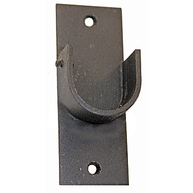 Menagerie Casa Outdoor Inside Mount Curtain Bracket; Black