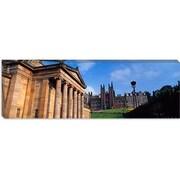 iCanvas Panoramic Art Museum Edinburgh Scotland Photographic Print on Canvas