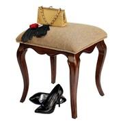 Design Toscano Lady Guinevere Vanity Stool