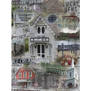 Graffitee Studios Cape Cod Local News - Centerville Graphic Art on Wrapped Canvas