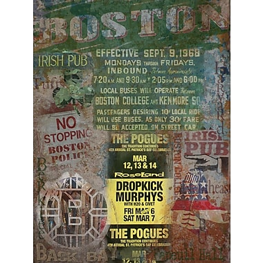 Graffitee Studios Boston All Things Graphic Art on Wrapped Canvas