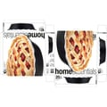 Home Essentials and Beyond Embossed Ring Pie Plate; Black