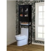 Jeco 23.6'' x 70.8'' Over the Toilet Cabinet; Brown
