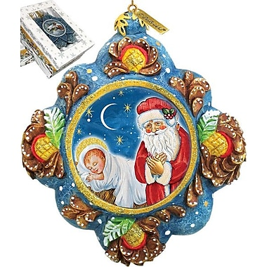 G Debrekht St. Nick Reason for The Season Ornament