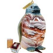 G Debrekht Penguin Landscape Clip-On Ornament