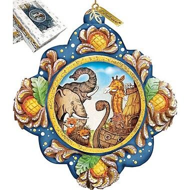 G Debrekht Noah Ark Ornament