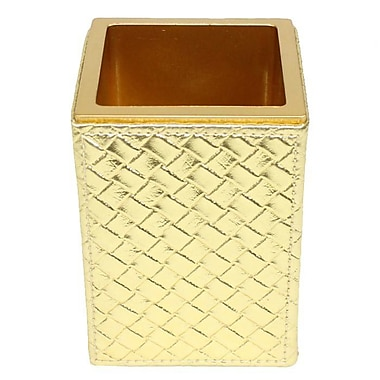 Gedy by Nameeks Marrakech Toothbrush Holder; Gold