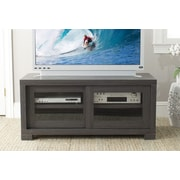 Safavieh Davis 47'' TV Stand; Dark Grey / Charcoal / Woodgrain