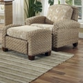 Home Styles Cabana Banana II Chair and Ottoman; Honey