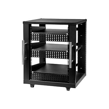 Peerless-AV® AVM 15U AV Component Rack System, Black