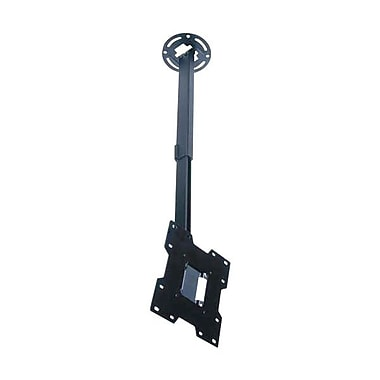 Peerless-AV® PC932C Ceiling Mount For Flat Displays, 80 lb. Capacity, Black