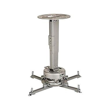Peerless-AV® PRS-EXA Adjustable Ceiling Projector Mount For Multimedia Projectors, Silver