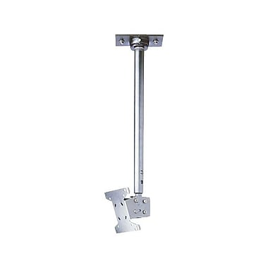 Peerless-AV® LCC-36S Ceiling Mount For Flat Displays, 40 lb. Capacity, Silver