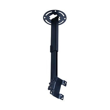 Peerless-AV® PC930B Ceiling Mount For Flat Displays, 50 lb. Capacity, Black