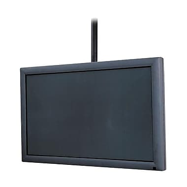 Peerless-AV® PLCM-1 Ceiling Mount For Flat Displays, 225 lb. Capacity, Black