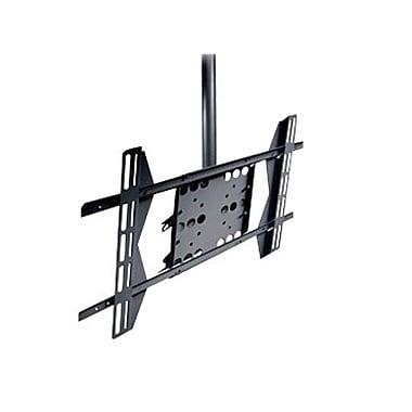 Peerless-AV® PLCM-UN1 Straight Column Ceiling Mount For Flat Displays, 125 lb. Capacity, Black