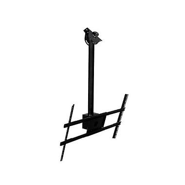 Peerless-AV® Modular 1m Ceiling Mount Kit For Flat Panel Display, 132 lb. Capacity, Black