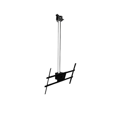 Peerless-AV® Modular 1.5m Ceiling Mount Kit For Flat Panel Display, 132 lb. Capacity, Black