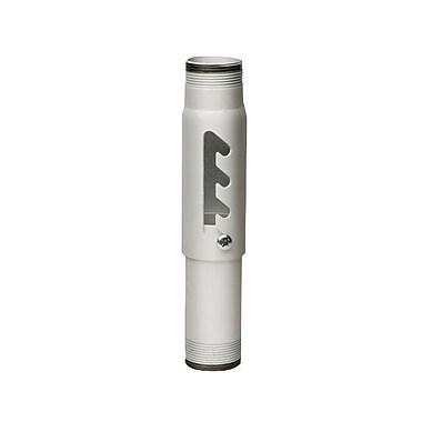 Peerless-AVMD – Colonne d'extension en acier réglable de 6-9 po avec capacité de 900 lb, blanc
