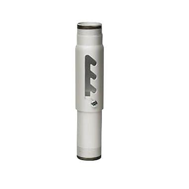 Peerless-AVMD – Colonne d'extension en acier réglable de 96 à 120 po avec capacité de 900 lb, blanc