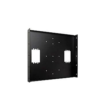 Peerless-AV® WSP416 Mounting Bracket For Wall Arms, Black