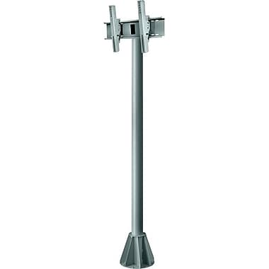 Peerless-AV® EPMU 6' Wind Rated Pedestal Mount For Flat Panel Display, 200 lb. Capacity, Grey