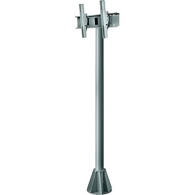 Peerless-AV® EPMU 7' Wind Rated Pedestal Mount For Flat Panel Display, 200 lb. Capacity, Grey