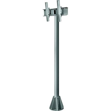 Peerless-AV® EPMU 8' Wind Rated Pedestal Mount For Flat Panel Display, 200 lb. Capacity, Grey