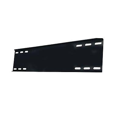 Peerless-AVMD – Plaque murale à double fixation métallique pour support SP740, 26 x 13 x 1 1/2 po, noir