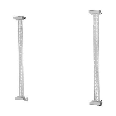 Peerless-AV® IWB600-UNIV Universal Wall Mount For Attachment Over Marker Whiteboard, Silver