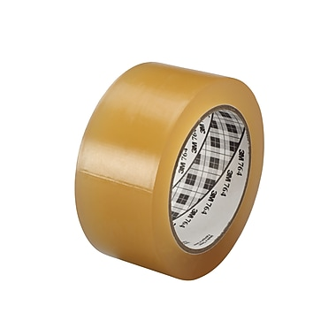 3M™ 1in. x 36 yds. General Purpose Solid Vinyl Safety Tape 764, Clear, 6/Pack