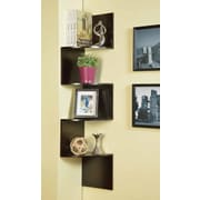 InRoom Designs 54'' Corner Bookcase