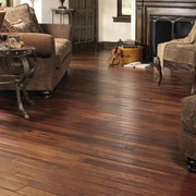 Appalachian Colonial Manor 4'' Solid Hickory Flooring in Smokehouse