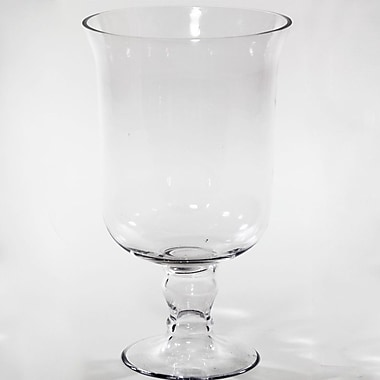Entrada Pressed Pedestal Vase